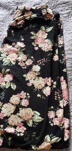 Ultra Flirt Floral Black floral Leggings
